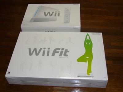 Wii Fitパッケージ