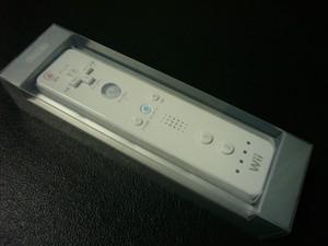 Wiiテレビリモコンパッケージ