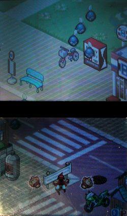 ネコソギトルネードゲーム本編(1面)/(c)2006 NINTENDO